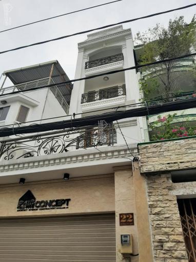 Cho thuê nhà mặt tiền đường rất sầm uất Lê Trực, P7, Bình Thạnh. DT 4x20m, trệt 2 lầu sân thượng ảnh 0