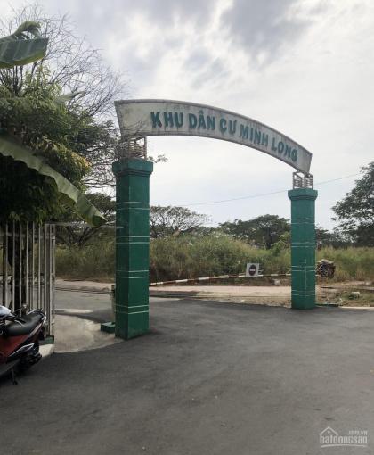 Bán đất KDC Minh Long ngay thị trấn Nhà Bè, DT 114m2, đường 12m, vị trí đẹp, giá cực tốt đầu tư ảnh 0