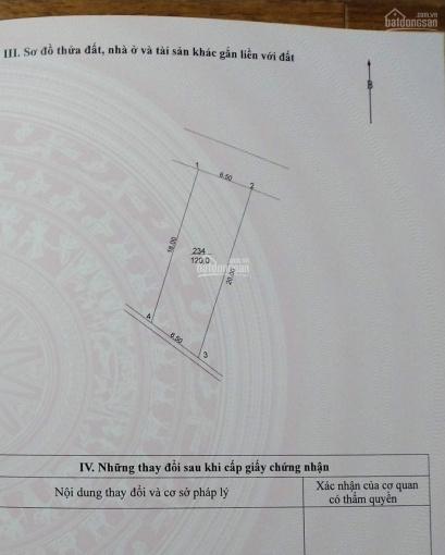 120 m2 đất Yên Viên, Gia Lâm, đường nhựa 6 m 2 ô tô tránh nhau, 4.4 tỷ ảnh 0