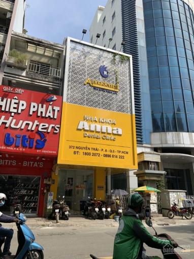 Bán nhà mặt tiền Hồng Bàng ngay góc Châu Văn Liêm, Quận 5 (4 x 28m), 3 lầu vị trí đẹp ảnh 0