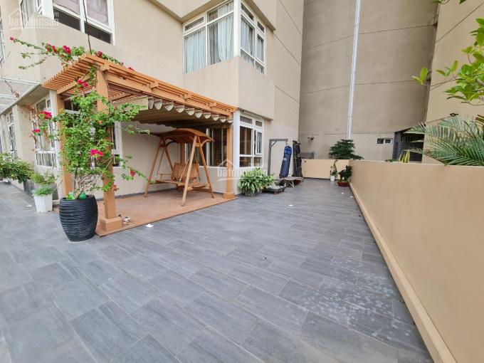 Căn hộ sân vườn siêu hiếm, 3 phòng ngủ 132m2 + 98m2 sân vườn, tặng lại toàn bộ nội thất ảnh 0