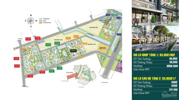 Cần bán Shophouse chân đế chung cư mặt sảnh S03.05 dự án Vinhomes Grand Park ảnh 0