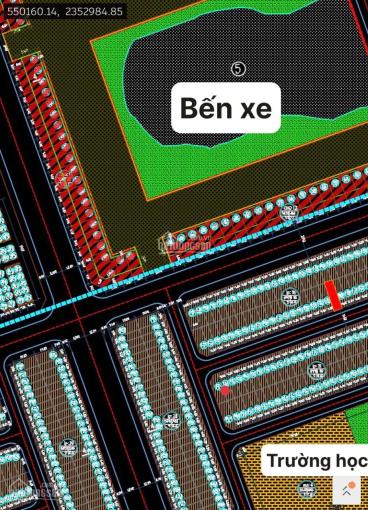 Bán 2 lô đất nền 100m2 chỉ 3.9 tỷ dự án chợ đầu mối Thổ Tang, Vĩnh Tường, Vĩnh Phúc. Lh: 0338978833 ảnh 0