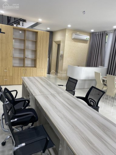 Cho thuê tòa nhà văn phòng (hầm + lầu) Full nội thất cao cấp, có thang máy KĐT Vạn Phúc 25 tr/th ảnh 0