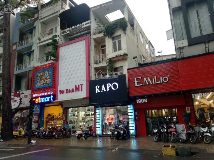 Cho thuê nhà nguyên căn đường thương hiệu 150 Nguyễn Trãi, P. Bến Thành Q1 (5x20m) cao 4 tầng 65tr ảnh 0