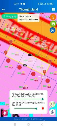 Bán đất sát biển ra sổ DSH, giá 700tr, DT 114m2. Lh 0982528892 ảnh 0