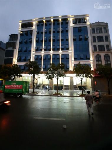 Cho thuê tòa nhà MP Thái Thịnh, Đống Đa. DT 150m2*7 tầng + 1 hầm, mặt tiền 18m, tòa nhà mới xây ảnh 0