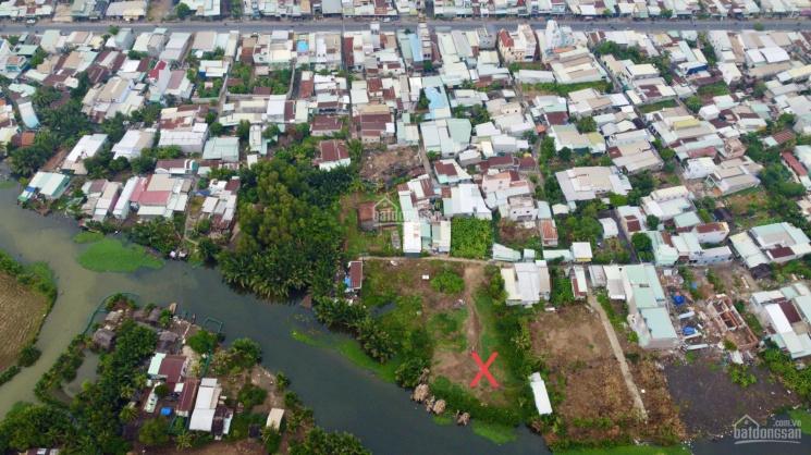 1000m2 đất vườn giáp sông - có sẵn 200m thổ cư xây cất nhà vườn - sát phà Cát Lái (nhận ký gửi đất) ảnh 0