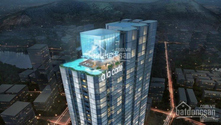 Bán căn hộ khách sạn 1 PN sổ đỏ lâu dài A La Carte Hạ Long 45m2 chỉ 1,85 tỷ full nội thất, HTLS 0% ảnh 0