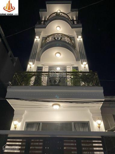Nhà đẹp 3 lầu 60.1m2 thiết kế hiện đại ngay trung tâm chợ Tăng Nhơn Phú A, Q9 ảnh 0
