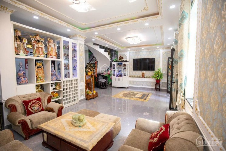 Bán gấp biệt thự Trường Chinh, P14, Tân Bình, 6 x 23m vuông vức, 4 lầu. Giá: 19 tỷ bớt lộc ảnh 0