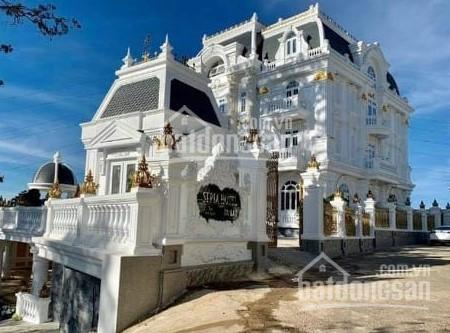 Lâu đài khách sạn MT Yên Thế, TP Đà Lạt. DT: 1200m2 đất hầm + 5 lầu, 29 phòng, giá: 76 tỷ ảnh 0
