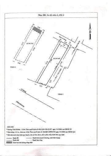 Bán nhà phố KD 3.5x18m, góc 2MT đường Vĩnh Khánh, Q4, giá 12 tỷ TL ảnh 0