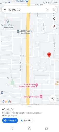 Bán đất nền - sổ đỏ chính chủ - 124m2 (2 lô cạnh nhau) - TP Ninh Bình - giá thỏa thuận ảnh 0