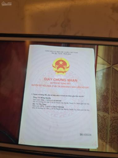 Bán đất ở Tả Thanh Oai, sổ đỏ chính chủ, liên hệ 0568695555 ảnh 0