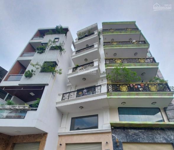 Chỉ 12,5 tỷ sở hữu MT đẹp 5 tầng, khu KD sầm uất đường Lê Trực, P7 Bình Thạnh, DT 4,2x13m. CN 54m2 ảnh 0