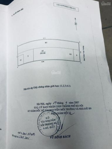 Bán nhà mặt phố Triệu Việt Vương, Hai Bà Trưng, DT: 193m2, MT: 8,5m nở hậu 8,51m ảnh 0