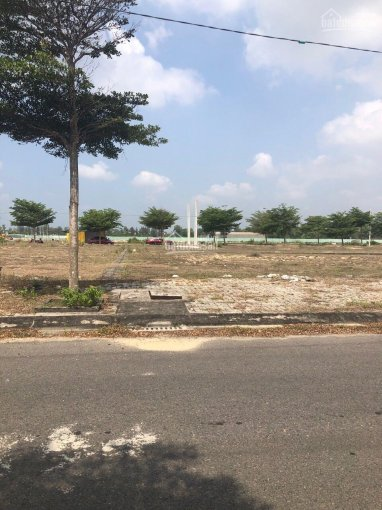 CC cần bán lô đất kẹp cống 125m2 đối diện trường đường 17,5m giá 21xx ảnh 0