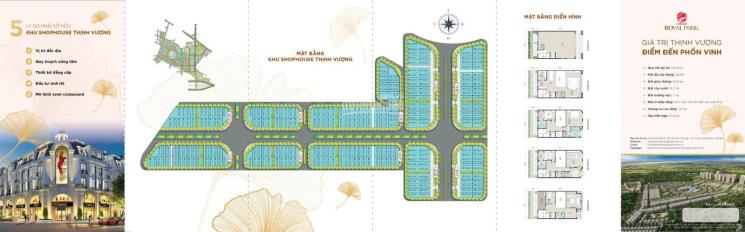 Mở bán shophouse mặt đường 30m, mặt tiền lớn - dự án Hinode Royal Park (Kim Chung Di Trạch) ảnh 0