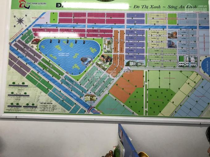 Bán đất khu dân cư Tân Đô Hương Sen Đức Hoà Long An, sổ hồng riêng giá 900 triệu 1 / nền ảnh 0