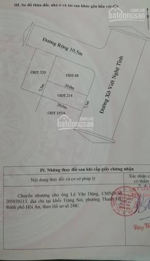 Bán đất mặt tiền Xô Viết Nghệ Tĩnh, diện tích 7.5mx20m, khu dân cư an ninh và sầm uất ảnh 0