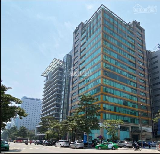 Cho thuê văn phòng phố Duy Tân - Cầu Giấy, thông sàn, lô góc 3 mặt tiền thoáng, ngồi được 55 người ảnh 0