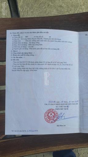 Cần bán lô góc 8x20m nở hậu hẻm 274 Nguyễn Văn Tạo, kế dự án Pax Residence Hòa Bình ảnh 0