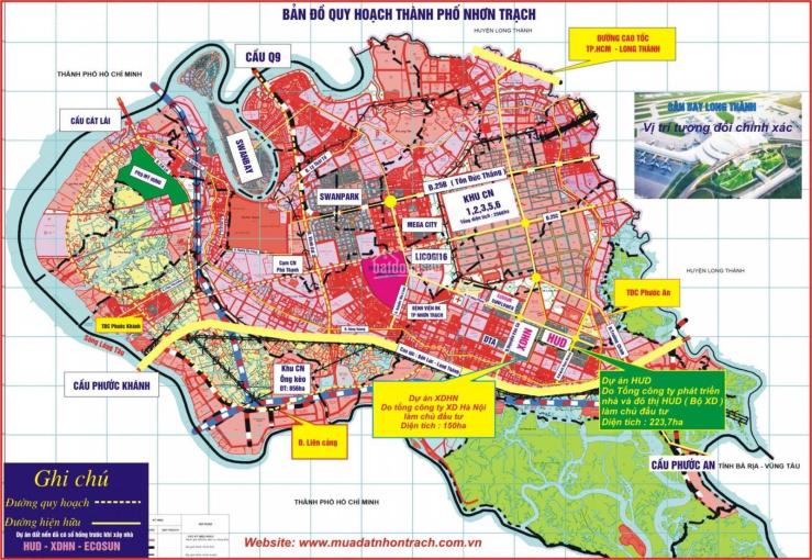 Đất nền dự án khu đô thị Long Thọ, Phước An, dự án HUD, XDHN giá tốt ảnh 0