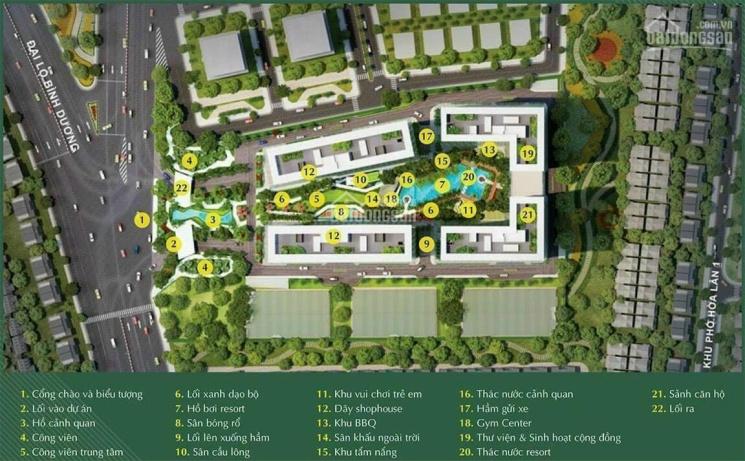 Bán căn hộ Lavita Thuận An, Bình Dương bank vay 70%. LH 0911105796 ảnh 0