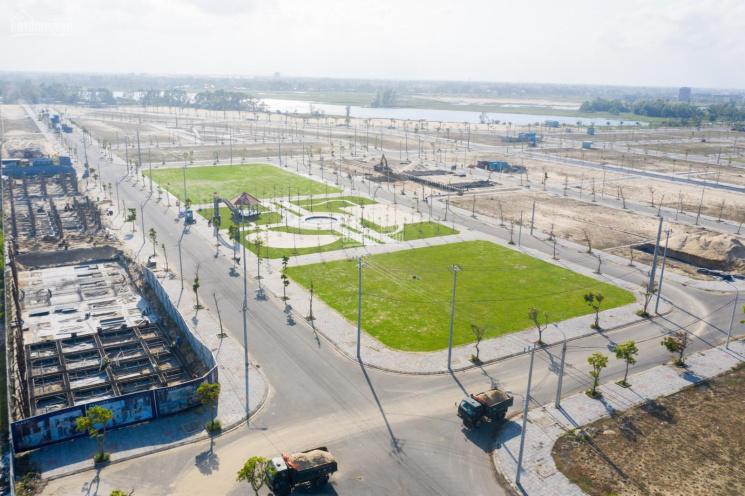 Bán lô đất nền biệt thự view sông, mặt tiền đường 20.5m, trục chính ra biển giá siêu rẻ ảnh 0