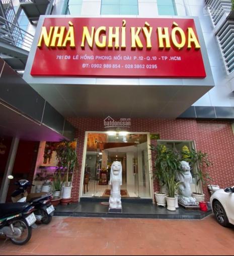 Bán khách sạn 781/D8 Lê Hồng Phong, P12, Q10 ảnh 0