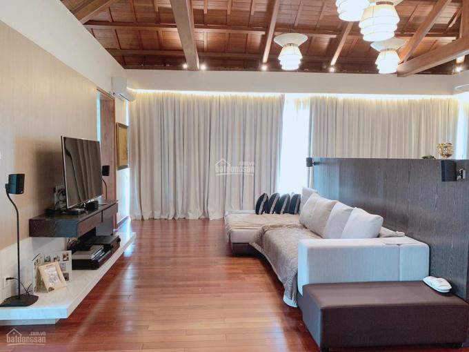 Cho thuê biệt thự đường Nguyễn Quý Cảnh, DT: 10x18m, hầm 4 lầu ST, DT sàn: 440m2, giá: 55tr/th ảnh 0