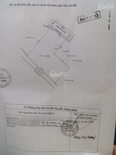 Lô đất đẹp 2 mặt tiền đường DX081 Định Hòa, vị trí vip, giá đầu tư. 0986698798 ảnh 0