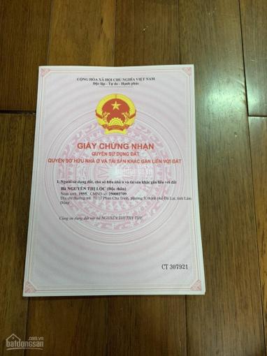 Chính chủ cần bán lô đất thổ cư MT đường Nguyên Tử Lực, P. 8, TP Đà Lạt, Lâm Đồng ảnh 0