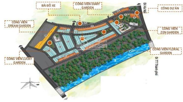 Bán nhà dự án Mỹ Độ Vista City Bắc Giang ảnh 0