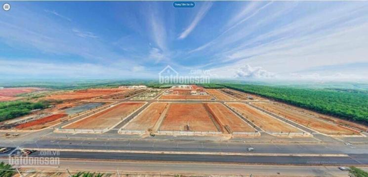 Đất nền mặt tiền trung tâm hành chính huyện Phú Riềng Bình Phước 1,3 tỷ - 120 m2 ảnh 0
