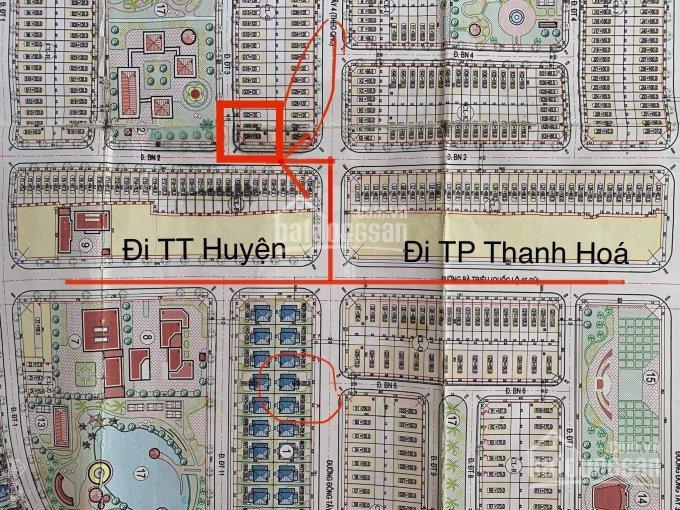 Bán đất trúng đấu giá mặt bằng trung tâm huyện Nông Cống 3 lô đầu ve Tây Nam. View công viên ảnh 0