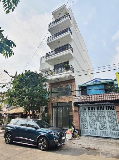 Bán nhà mặt tiền khu Cư Xá Ngân Hàng Q7, DT 4x20,3m, XD trệt lửng 4 lầu, có thang máy, SHR ảnh 0