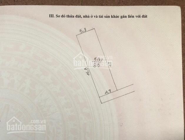 Chính chủ bán mảnh đất 85m2 nở hậu tại Vạn Phúc, Thanh Trì ảnh 0