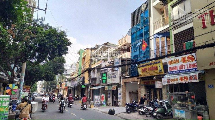 Bán nhà mặt tiền đường Hoàng Hoa Thám Quận Tân Bình, 2 mặt tiền trước sau, 4.4x22m, giá chỉ 22 tỷ ảnh 0