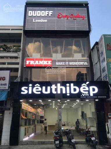 Cho thuê MT Lý Thường Kiệt đối diện chợ Tân Bình, DT: 6x40m, 3 tầng mới suốt giá 80 triệu/th ảnh 0