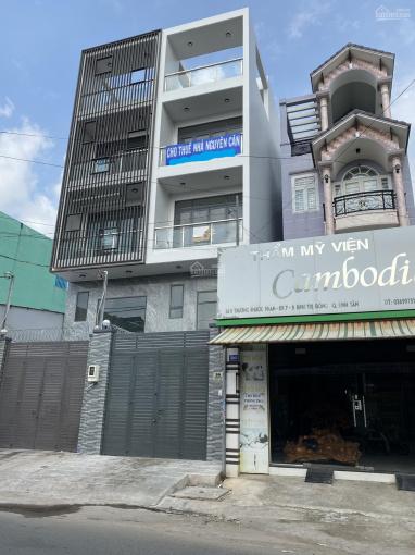 Nhà cho thuê MT đường Trương Phước Phan DT 4x25m có 3 tấm mới xây đẹp ảnh 0