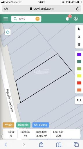 Chủ kẹt tiền cần bán đất MT Nguyễn Hữu Cảnh gần đường 25C vòng xoay Cây Nón, giá đầu tư rẻ nhất KV ảnh 0