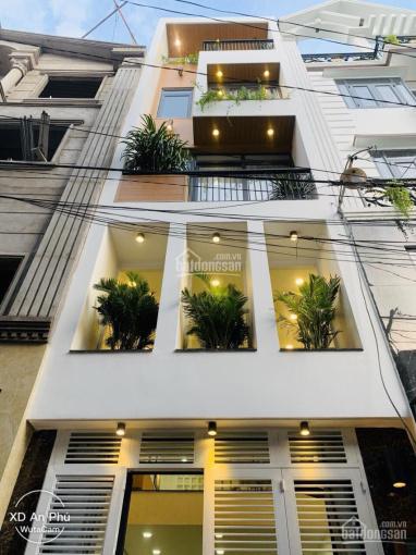 Bán nhà mặt tiền đường khu đường Hoa - Phan Xích Long, Phường 2, Phú Nhuận (4x18m), 4 tầng, 19.5 tỷ ảnh 0