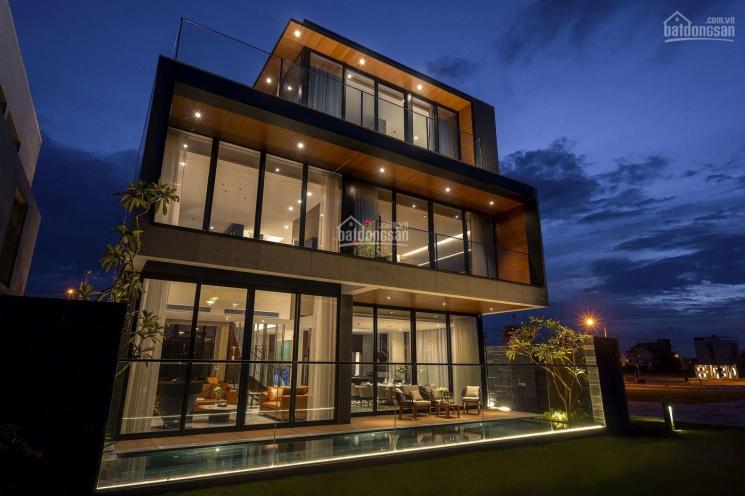 Villa nghỉ dưỡng 2 mặt tiền cạnh sông Cổ Cò nằm trong khu đô thị Phú Mỹ An ảnh 0