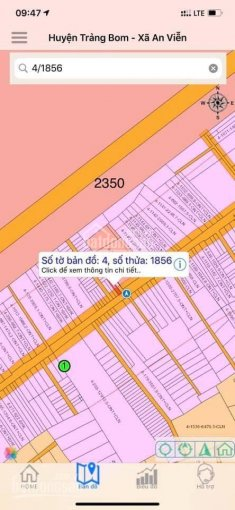 Bán đất xã An Viễn, ngay cổng KCN Giang Điền, lộ giới 32m ảnh 0