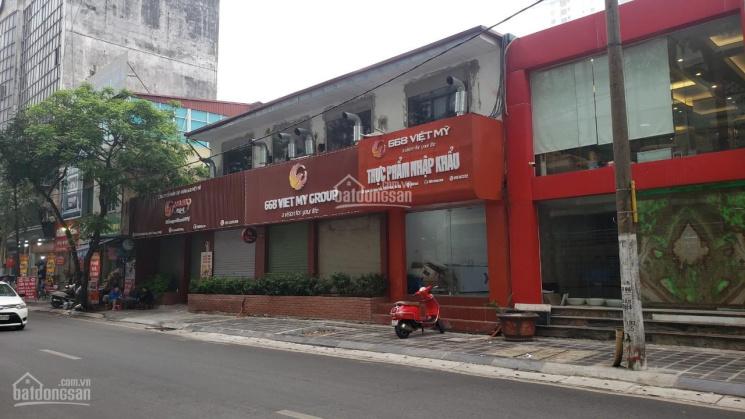 Cho thuê MBKD khu văn phòng mặt phố Thái Thịnh, DT 200m2, MT 10m, giá 60 triệu/tháng ảnh 0