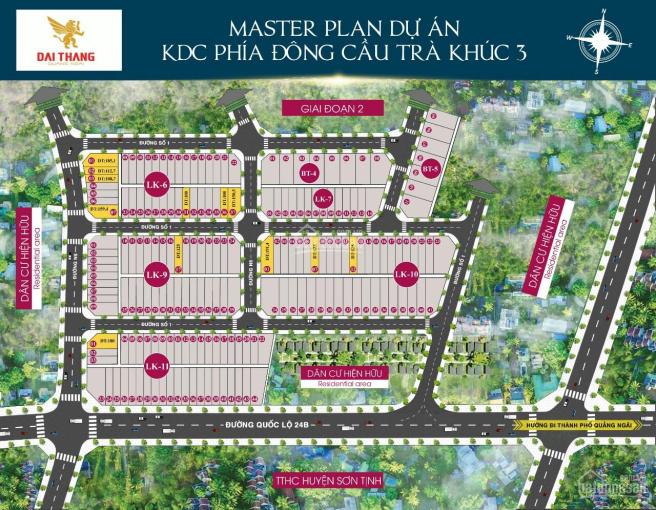 Chính thức mở bán dự án phía Đông cầu Trà Khúc 3 - trung tâm huyện hành chính Sơn Tịnh ảnh 0