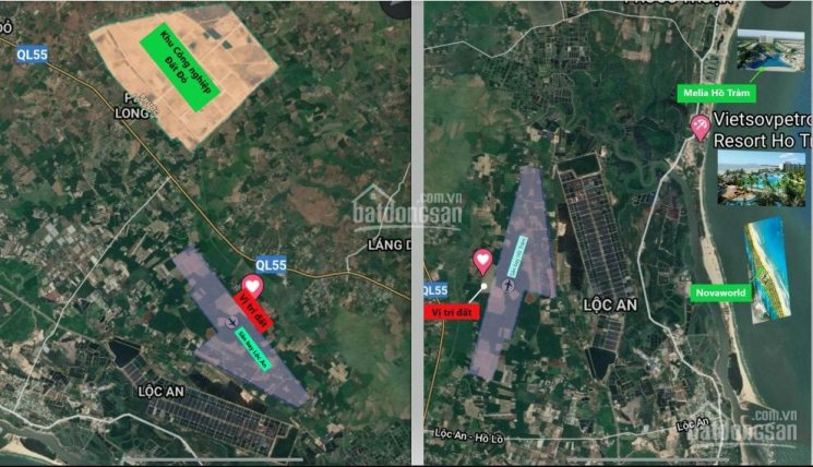 Bán đất gần sân bay Lộc An giá 800tr/nền, cách biển chỉ 8km sổ sẵn thổ cư 100m ảnh 0