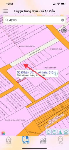 Ấp 4, An Viễn chính chủ cần bán lô đất 5x25m, sổ hồng riêng, thổ cư 100%, ngay cổng KCN Giang Điền ảnh 0